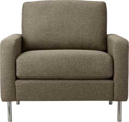Central sepia chair - CB2