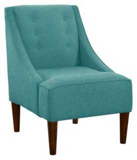 McCarthy Chair, Laguna Linen - One Kings Lane