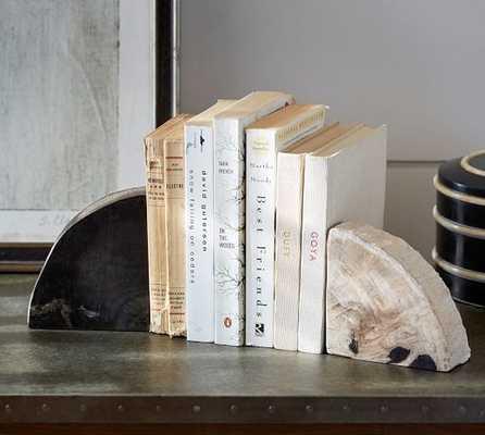 Petrified Wood Bookends - Pottery Barn