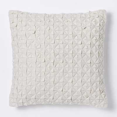 Origami Felt Diamond Pillow Cover - West Elm