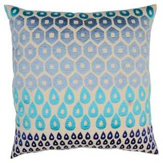 Megha Cotton Pillow - One Kings Lane