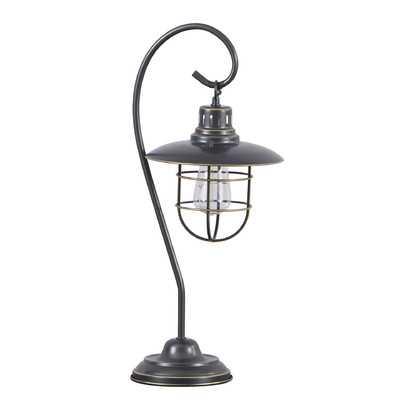 "Samantha 23"" H Table Lamp with Bell Shade - Wayfair"