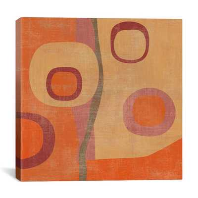 """Abstract II"" by Erin Clark Wall Art on Canvas - 18""x18"" - Unframed - AllModern"