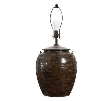 Courtney Ceramic Table Lamp Base - Pottery Barn