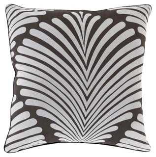 Hortense Cotton Pillow - One Kings Lane