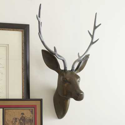 Rustic Deer Head - Wayfair