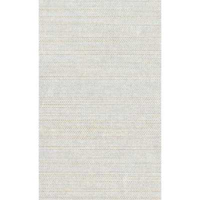 Resource Metallic Silver and Gold Grasscloth Woven Wallpaper - Bellacor