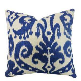 Ikat 20x20 Cotton-Blend Pillow - One Kings Lane