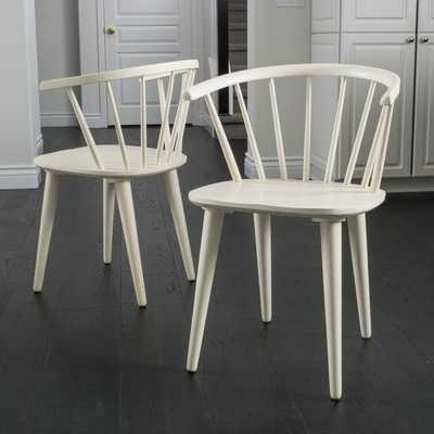 Christopher Knight Home Countryside Rounded Back Spindle Wood Dining Chair - Overstock