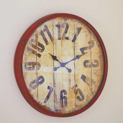 Burkhart Wall Clock - Birch Lane