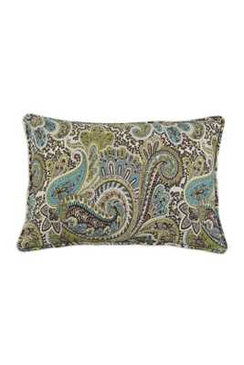 "CUSTOM CORDED RECTANGULAR PILLOW - 12.5"" x 19"" - Dow Insert - Home Decorators"