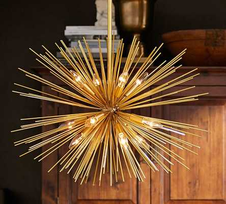 EXPLOSION CHANDELIER - Pottery Barn