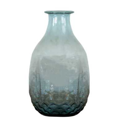 Recycled Hand Blown Glass Vase - Wayfair