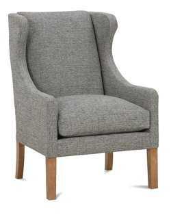 Bryton Wingback Chair - One Kings Lane