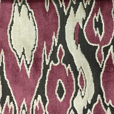 HARROW - ABSTRACT CUT VELVET UPHOLSTERY FABRIC BY THE YARD - COLORS: 12 - Soul Home