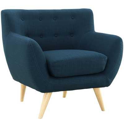 Remark Arm Chair - Azure - AllModern