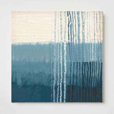 "Oversized Ripple Wall Art- 29""sq.- Unframed - West Elm"