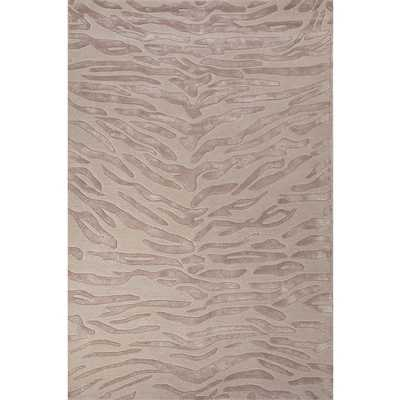 National Geographic Home Wool and Viscose Hand Tufted Ivory/White Tiger Area Rug - Wayfair