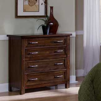 Home Styles Cabin Creek 4 Drawer Chest - Wayfair