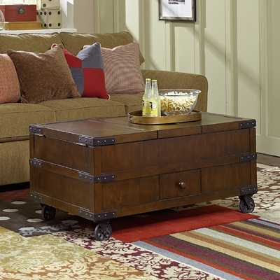 Hidden Treasures Coffee Table with Lift Top - Wayfair