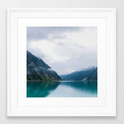 """in the mountains - 12"""" X 12"""" - framed - Society6"""