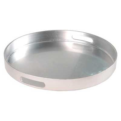 "Thresholdâ""¢ Tray - Round polypro silver - Target"