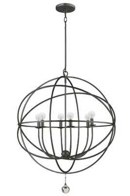 SOLARIS CHANDELIER - 6-light large - English bronze - Home Decorators
