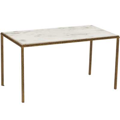 Hammered Gold Cocktail Table - High Fashion Home