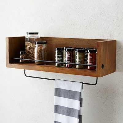 Rustic Shelf - Kitchen - West Elm