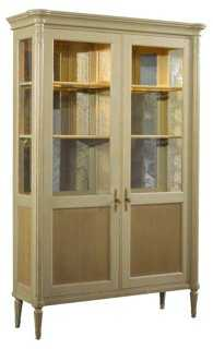 """Savoy 79"""" Display Cabinet, Parchment - One Kings Lane"""