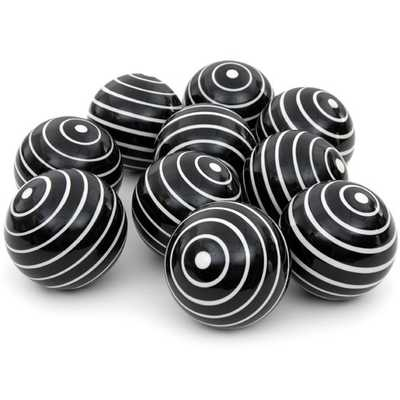 Stripes Decorative Ball Sculpture - AllModern