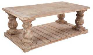 "Brooks 54"" Coffee Table - One Kings Lane"