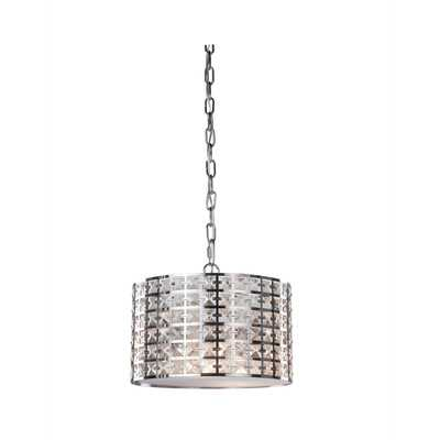 Coventry 2 Light Drum Pendant - Wayfair