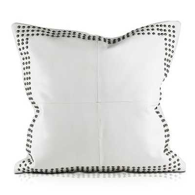 Pyar & Co. Dohni Pillow - White - Candelabra
