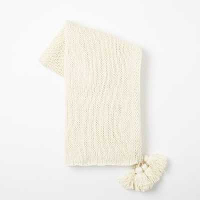 Cotton Tassel Throw - West Elm