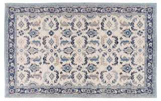 Middleton Rug, Ivory/Navy - One Kings Lane