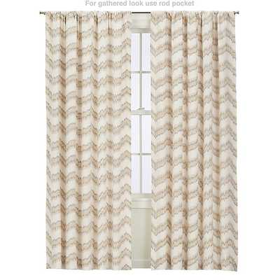 "Mavis 50""x108"" Curtain Panel - Crate and Barrel"
