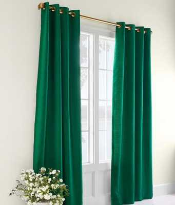 PREMIUM FAUX SILK LINED GROMMET-TOP CURTAINS - countrycurtains.com