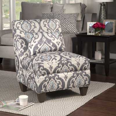Slate Large Slipper Chair - Wayfair