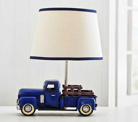 Truck Complete Lamp - Pottery Barn Kids