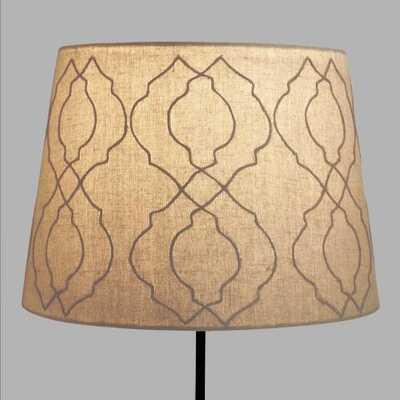 Jute Tile Table Lamp Shade - World Market/Cost Plus