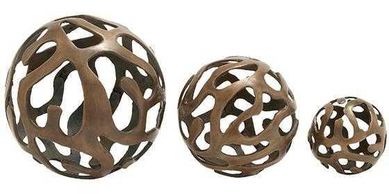 EMIL DECORATIVE BALLS - SET OF 3 - Home Decorators