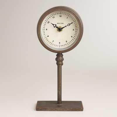 Ryan Pedestal Clock - World Market/Cost Plus