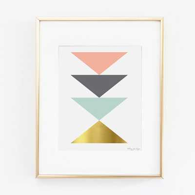 Abstract Geometric Art Print- 8x10-Unframed - Etsy