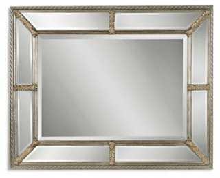 Paneled Mirror - One Kings Lane