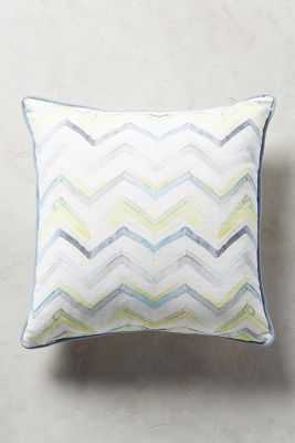 Majorcan Garden Pillow - 18x18 - With Insert - Anthropologie