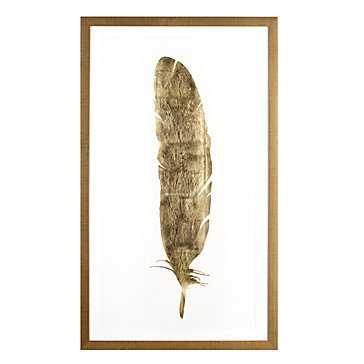Gold Feather - Z Gallerie