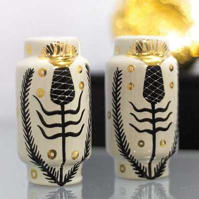 Waylande Gregory Salt & Pepper Shakers - Pineapple - Candelabra
