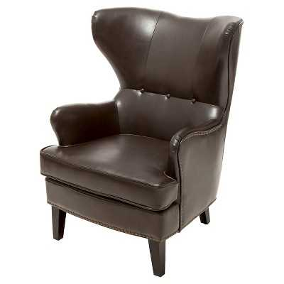 Warner Bonded Leather High Back Chair - Target