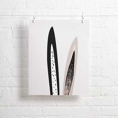 "Bunny Ears Alphonnsine Wall Art - 16""Wx20""H - unframed - Land of Nod"
